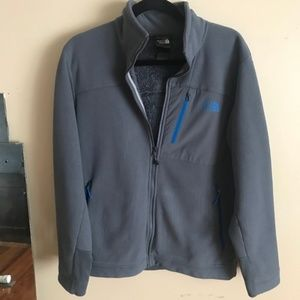 The North Face | Size M, Mens Gray Zip Up Fleece